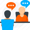 business, chat, concept, customer, people, relationships icon icon
