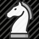 horse, knight, marketing, strategy icon