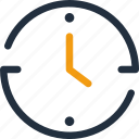 clock, time, hour, alarm, management, business, minute