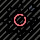 configure, focus, gear, setting, target icon