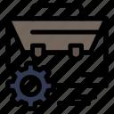 bag, engineer, gear, manufacturing, setting