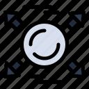 all, arrow, circle, direction icon