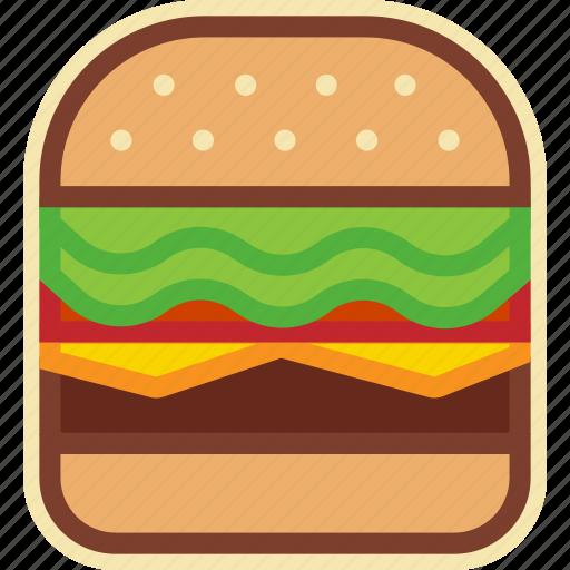 Burger, cheeseburger, fast, food, hamburger, street icon - Download on Iconfinder