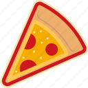 fast, food, pizza, pizza slice, slice, street icon
