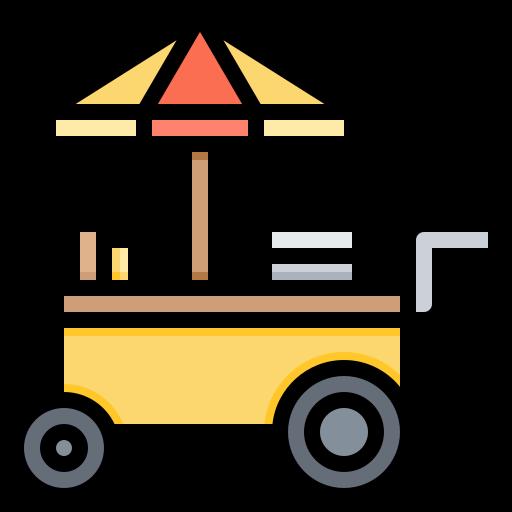 asian, food, kiosk, street, trolley icon