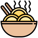 bowl, food, noodles, ramen, soup icon