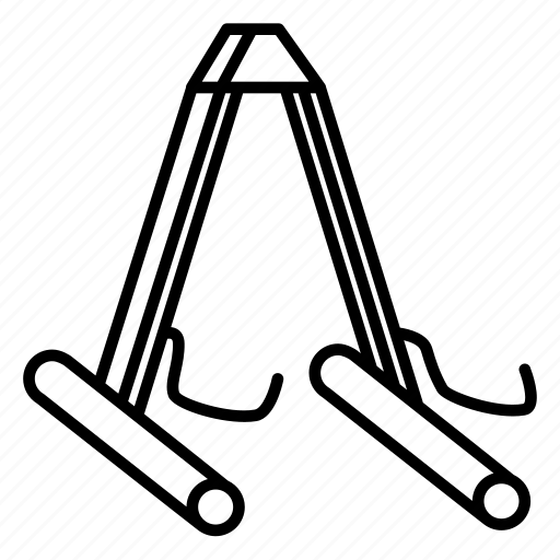 foot stools, guitar, guitar accessories, music, stands, string instruments icon