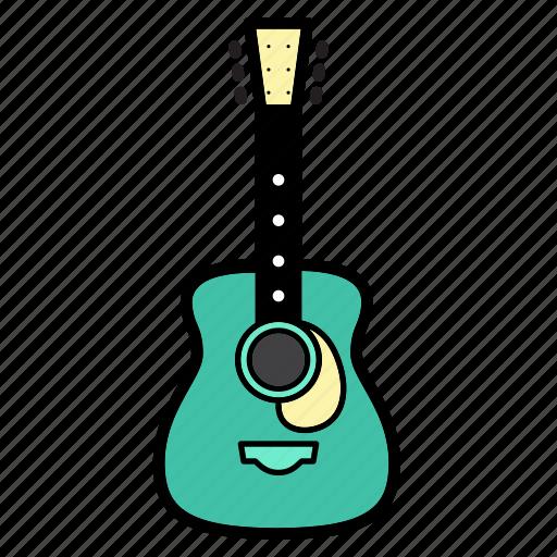 cort, folk, guitar, music, sound, string instruments icon