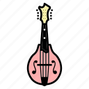 banjo, guitar, mandolin, mandoline, music, string instrument, ukulele icon