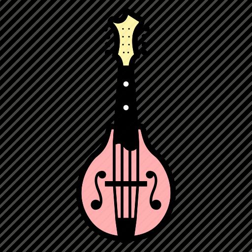 banjo, guitar, mandolin, mandoline, music, string instrument, ukulele icon