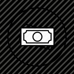 dollar, euro, frank, money, rial, rubal, rupee icon