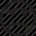 emoticon, ugly, bad, shocked, sad, lucky