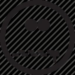 avatar, emoticon, emoticons, emotion, happy, profile, sad icon