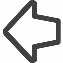 arrow, back, circle, previous icon