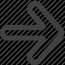 arrow, arrows, forward, next icon