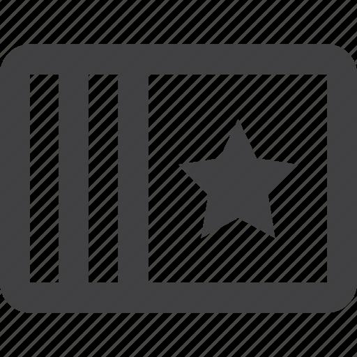 add, bookmark, file, page, paper, star icon