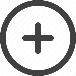 add, basic, circle, file, new icon