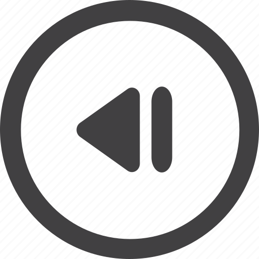 arrow, basic, green, paper, previous icon