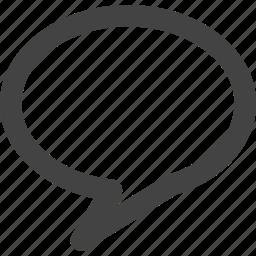 bubble, chat, communication icon