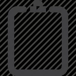 board, clip, clipboard, documents, paper, sketch board icon