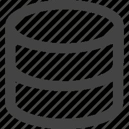 data, data center, data sheet, database, storage icon