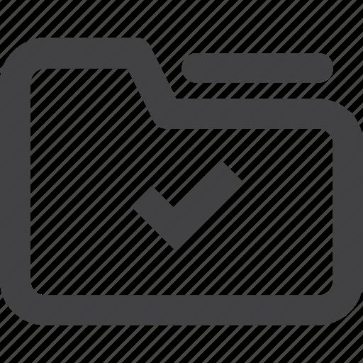 check, documents, files, folder, uploaded folder icon