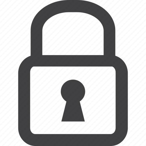 lock, safe, security, steel icon