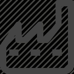 building, element, manufacturer, pollution, product, workshop icon