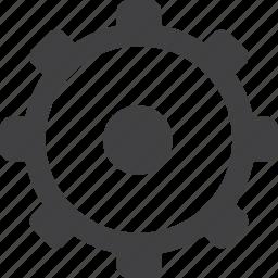 control, gear, machine, setting, time, worm icon