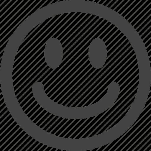 emoticon, emotion, face, happy, simple shape, smile icon