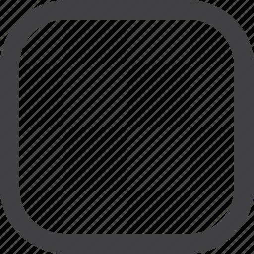 control, media, square, stop icon