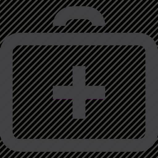 add, beauty and health, caduceus, doctor, health symbols/metaphors, healthcare and medicine, hospital, illness, invalid, medical exam, medicine, nurse, paralytic, patient, plus, suicase icon