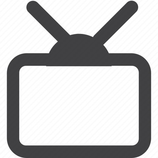 antenna, broadcasting, communication, concepts, control, electrical equipment, electronics industry, entertainment, illustration and painting, image, monitor, old, old-fashioned, relaxation, retro revival, screen, single object, technology, television, television broadcasting, the media, tv, video icon