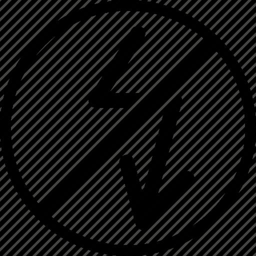 arrow, block, down, move icon