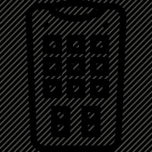 control, remote, tv, wireless icon