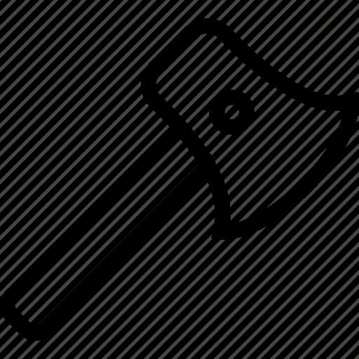 axe, equipment, hatchet, tool, weapon icon