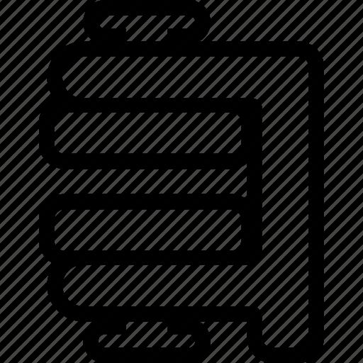 compressed, winrar, winzip, zipper icon