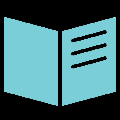book, education, guide, menu, read, rule icon