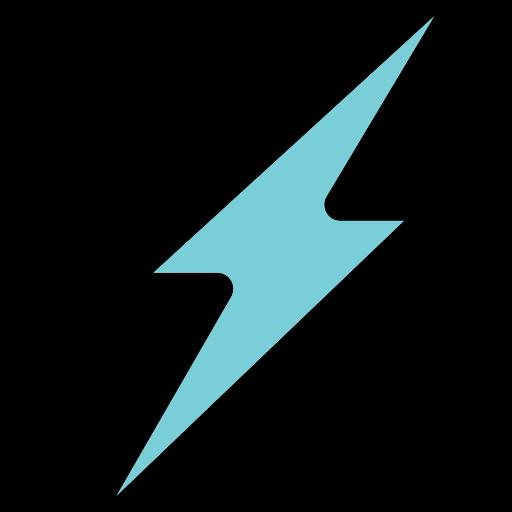 best, fast, flash, good, light, speed icon