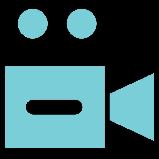 movie, play, show, sound, video icon