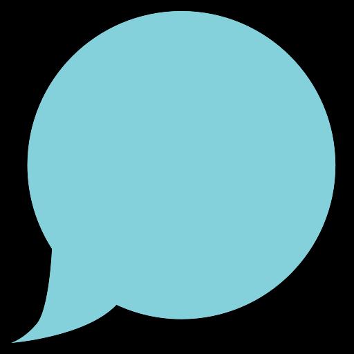 balloon, bubble icon