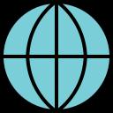 earth, globe, global, map, world icon