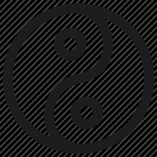 health, hotel, yin and yang, yin yang icon