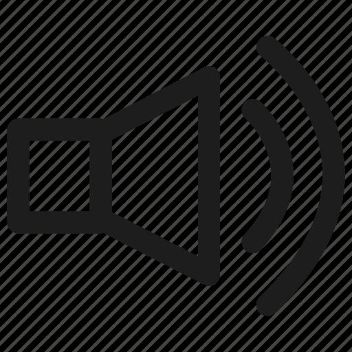 loud, multimedia, music, speaker, volume icon