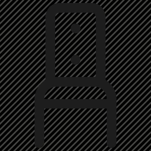 Chair, furniture, sit, interior, seat icon - Download on Iconfinder