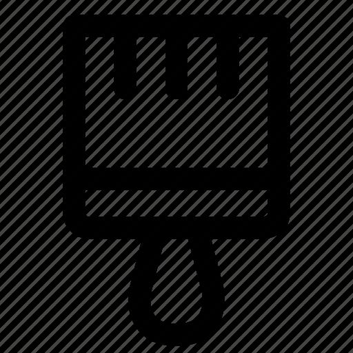 brush, design, paint, tool icon