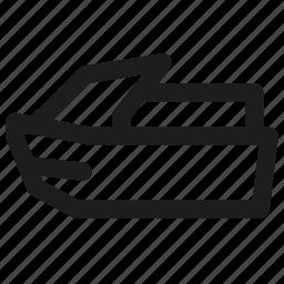 speedboat, transport, transportation, travel, vehicle icon
