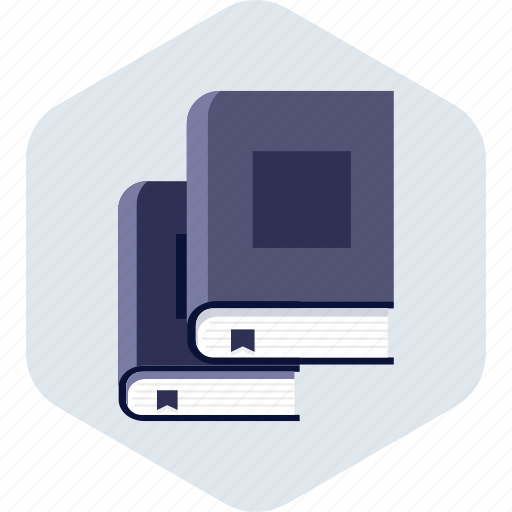book, books, education, learning, library, school icon