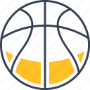ball, basketball, sport, study icon