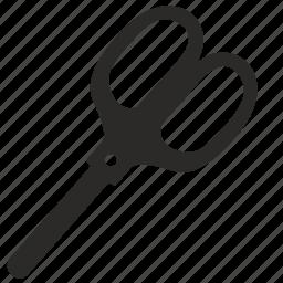 cut, instrument, office, paper, scissors, shears icon